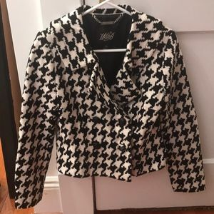 White House black market checkers jacket